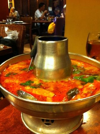 Wong Chun Chun Thai Restaurant: Tom Yam Gung Suppe