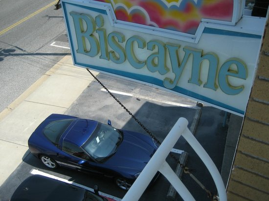 Biscayne Family Resort: My car enjoying the shade at the BIscayne