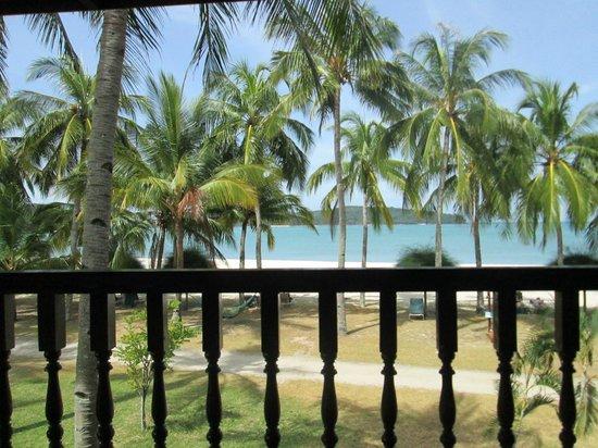 View From Beachfront Room Picture Of Pelangi Beach Resort Spa Langkawi Pantai Cenang Tripadvisor