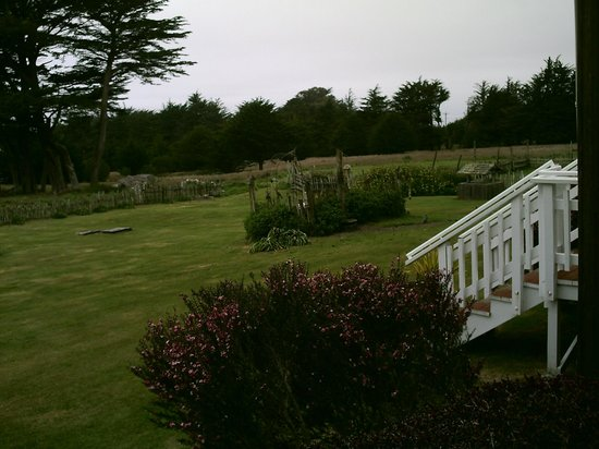 Fensalden Inn: Porch view.