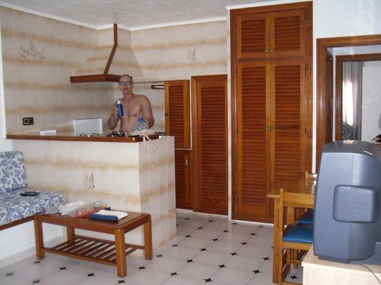 Appartamenti Barbarroja: cucina a vista