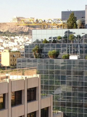 InterContinental Athenaeum: nice Acropolis view...NOT