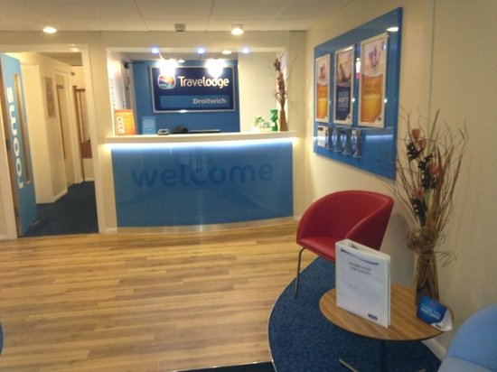 Travelodge Droitwich: Reception