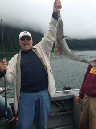 Ear Mountain Charters: My Dad's 70th Birthday Halibut Catch!
