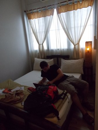 Lamphu House: our room on the top floor