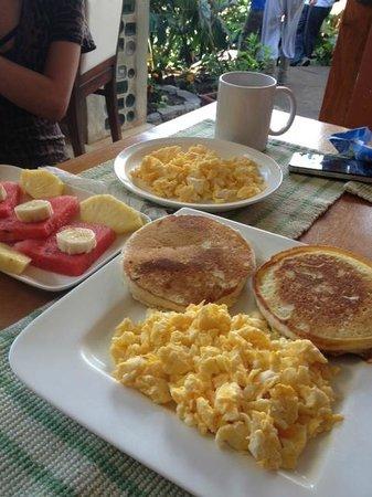 Camino Verde Bed & Breakfast Monteverde: breakfast
