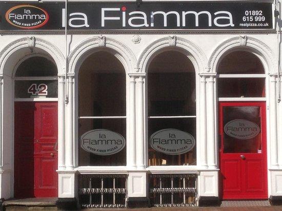 La Fiamma: Our restaurant on Mt Ephraim