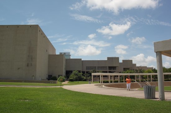South Texas Institute for the Arts: The Fountain Area