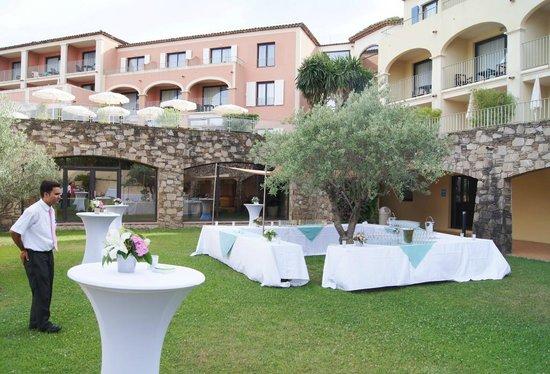 Hotel Les Jardins de Sainte-Maxime : Garden party