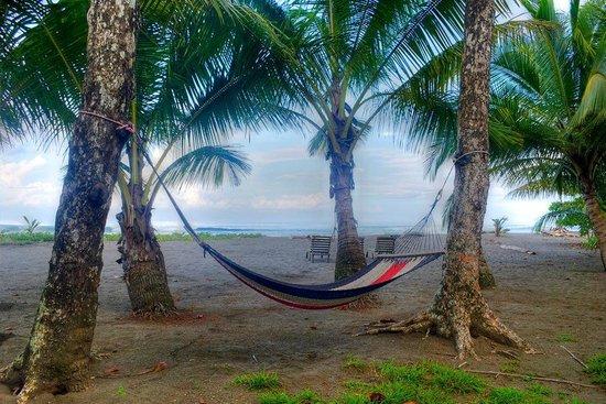 Dos Palmas Beach Cabinas: Relax in our hammock