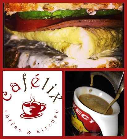 Cafelix: Breakfast bagel