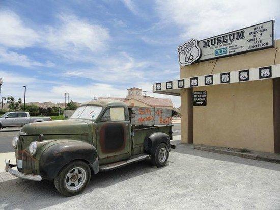 The California Route 66 Museum: Museum exterior.
