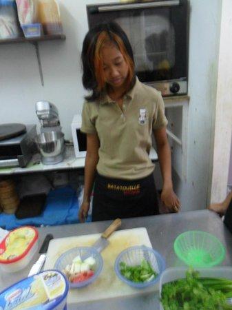 Chez Ratatouille : la cuisine