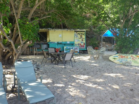 Virgin Islands Campground: Joe's Bar and Grill
