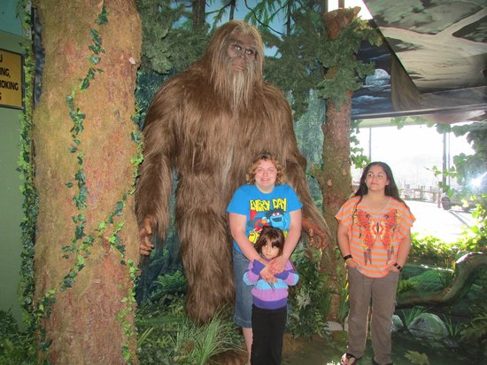 Ripley's Believe It or Not! : The bigfoot and 3 cool kids!