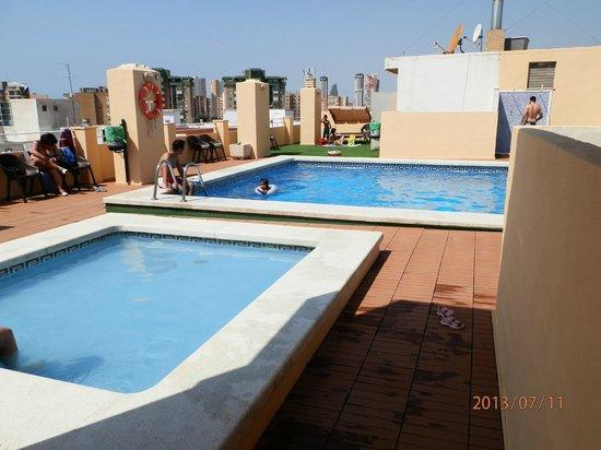 Sol y Sombra : piscinas del olimpus