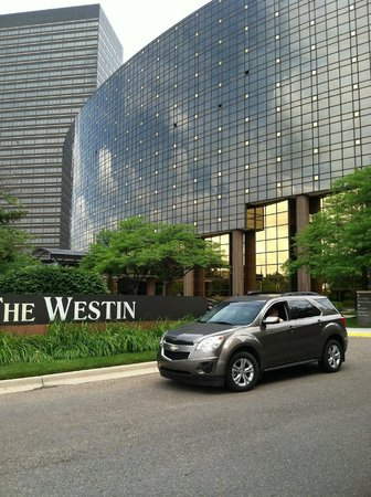 The Westin Southfield Detroit : We are leaving : (