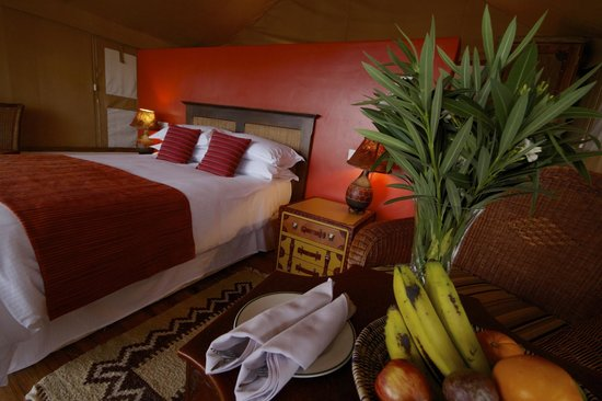 Queen Elizabeth National Park, Uganda: Mweya Lodge Tent