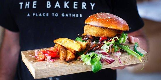 The Butter Market Bakery: burger