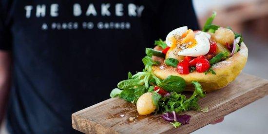 The Butter Market Bakery: salad