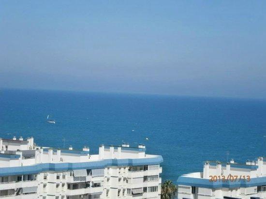 Apartamentos Pierre & Vacances Benalmadena Playa: preciosa vista donde parece que se uniera el mar y el cielo