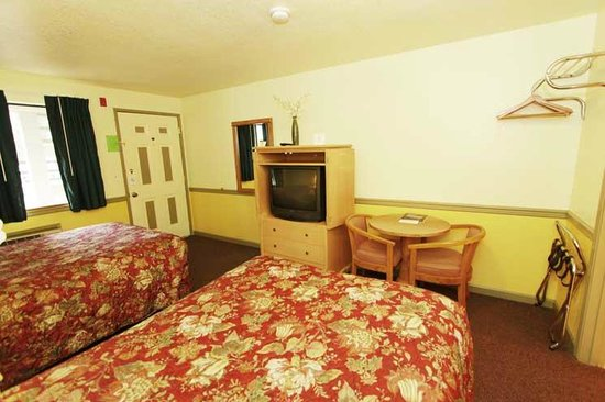 Belfair Motel: TV and other accommodations