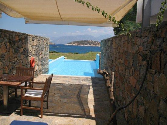St. Nicolas Bay Resort Hotel & Villas: Die tolle Aussicht der Juniorsuite