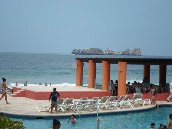 Holiday Inn Resort Ixtapa: esta es la vsta desde el lovi :3