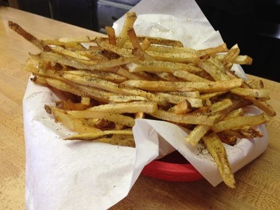 J & W Grill: j&w French fries!! hot and delicious!! YUM!!!