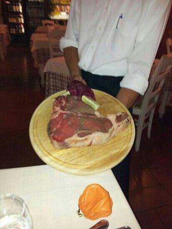 Trattoria dal Contadino: questo e'uno dei prelibati piatti del ristorante una goduria!!!!!!!!