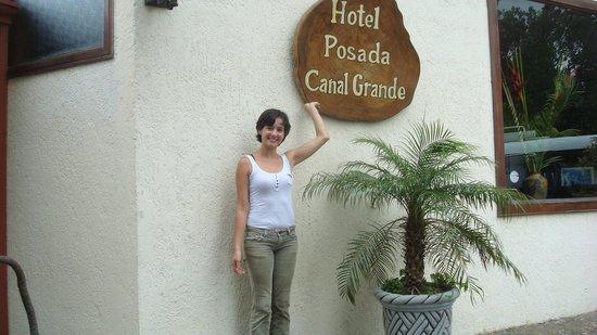 Hotel Posada Canal Grande: This is Elizabeth, truly talented gal