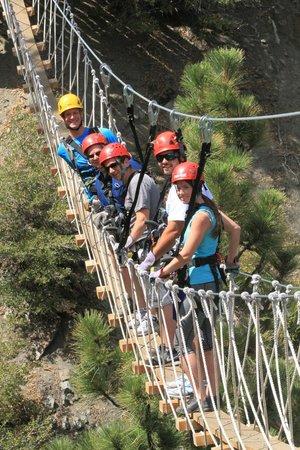 Big Pines Zipline Tours: Group shot