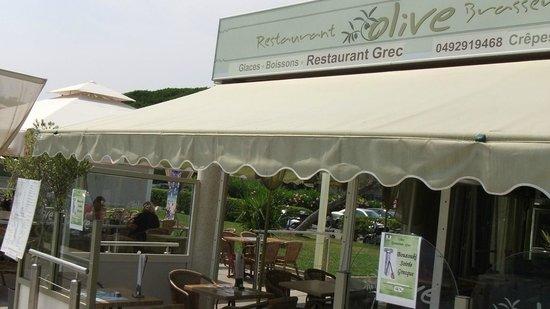 Olive Restaurant Grec : Pas de doute, c'est un restaurant grec