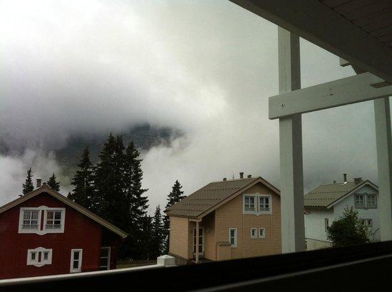 Chalets Hameau de Flaine: Brouillard le matin