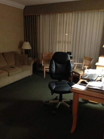 Quality Inn Downtown Inner Harbour: General sitting area