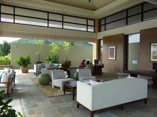 Raffles Seychelles : 2ème lobby