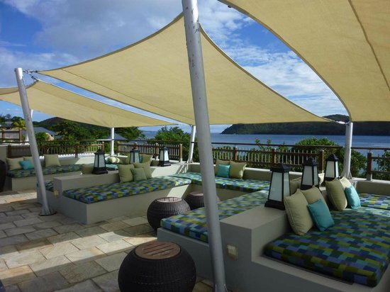 Raffles Seychelles : Terrasse