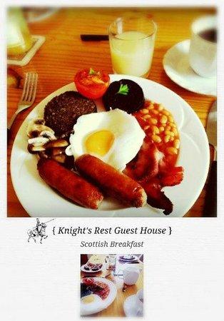 Knight's Rest Guest House: Breakfast