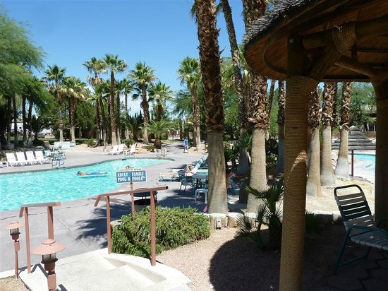 Oasis Las Vegas RV Resort : Pool