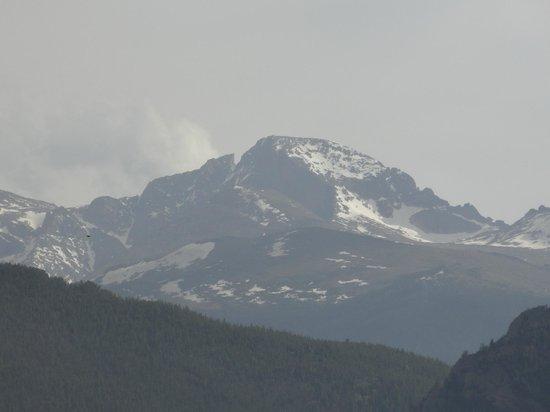 Stanley Hotel: View of Long's peak