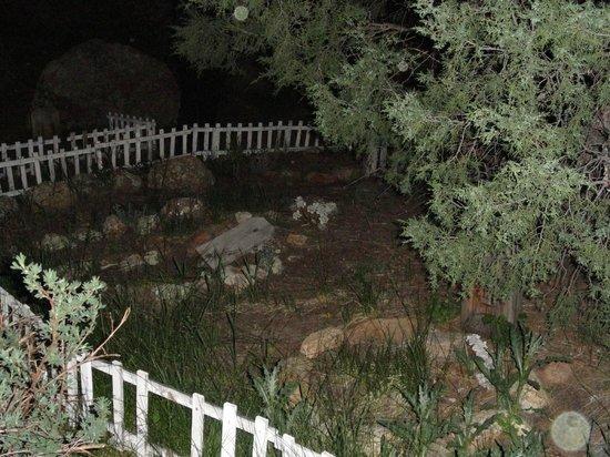 Stanley Hotel: Pet Cemetery behind staff quarters