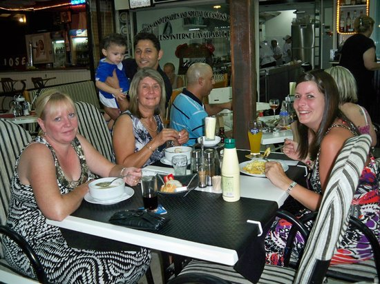 Calis Strand: A nice meal in Fethiye