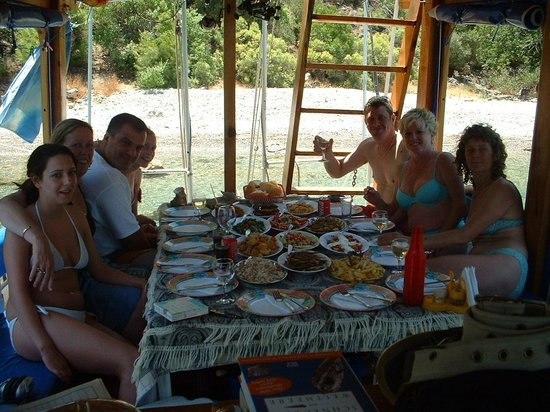 Calis Beach: Jerrys boat trip fishing and snorkelling