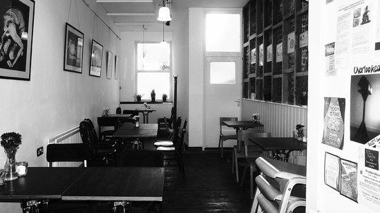 Pop Up Cafe: ground floor