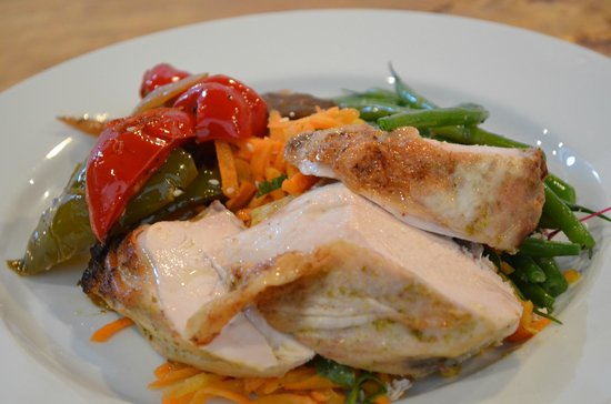 Foodilic: organic chiken