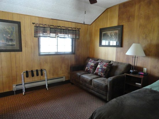 Grand Lake Lodge: Half duplex cabin number nine