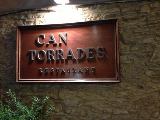 Can Torrades: main entrance