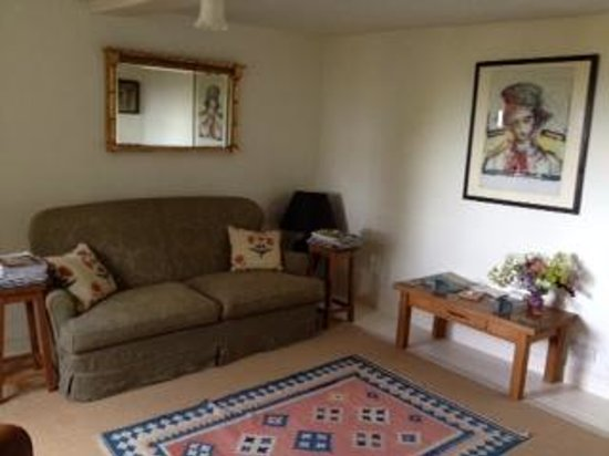 Upton Noble, UK: Living room