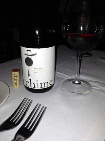 Cafe 123: Another great wine, goes great with steak.