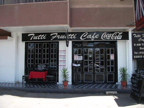 Tutti Frutti  Restaurant: Tutti Fruitti Frontage